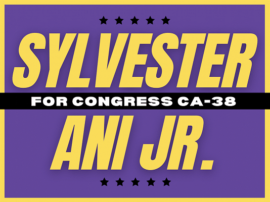 SYLVESTER ANI JR. FOR CONGRESS