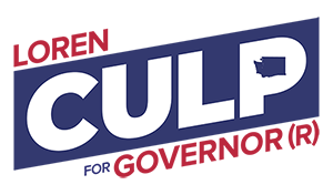 Culp for Governor