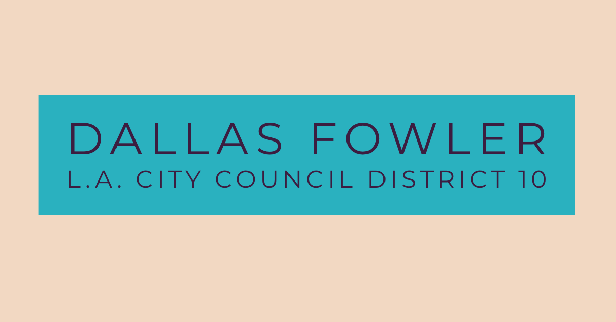 FOWLER FOR CITY COUNCIL 2020