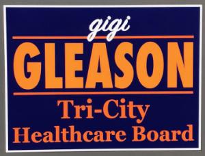 Gleason for Tri City Healthcare District Board 2020