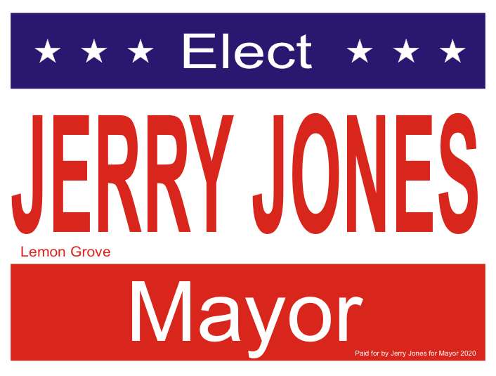 Jerry Jones for Mayor 2020