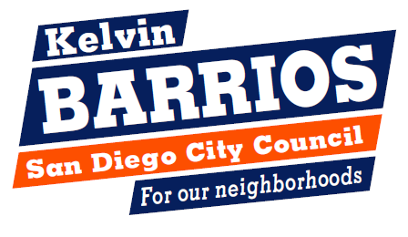 Kelvin Barrios for San Diego City Council 2020