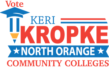 Keri Kropke for North Orange County Community College Trustee 2020
