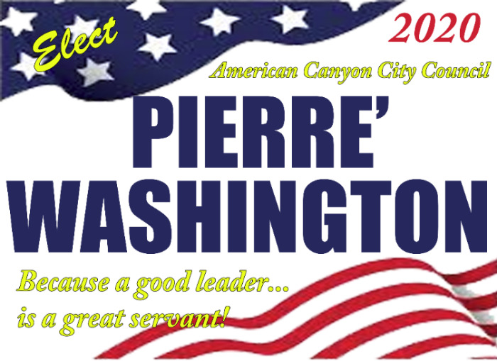 Pierre Washington for City Council 2020