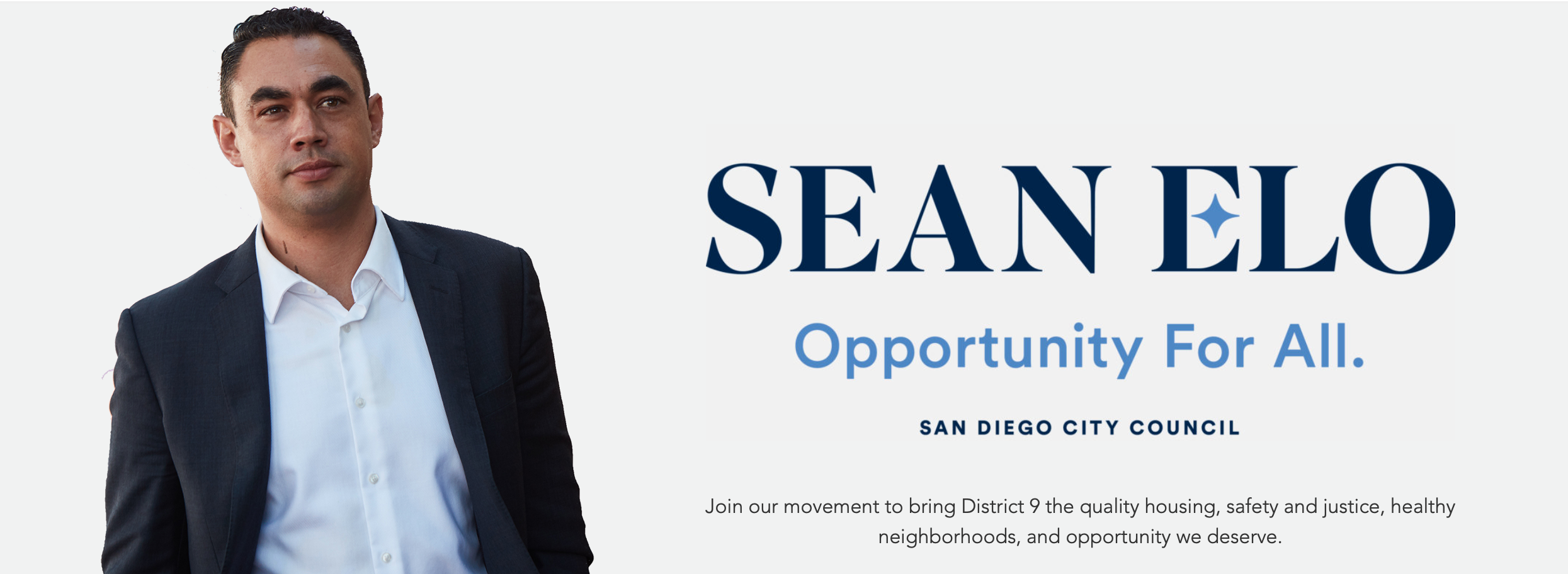 Sean Elo for City Council 2020