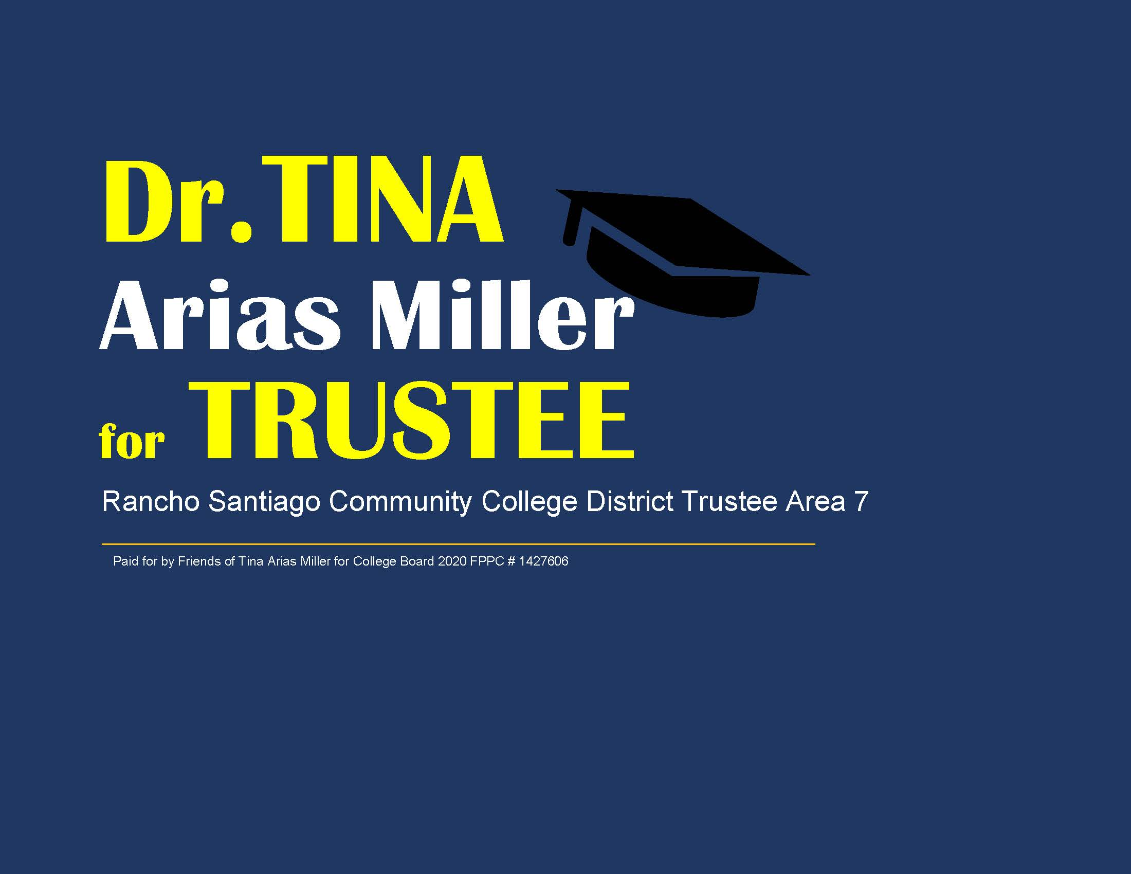Friends for Tina Arias Miller for College Board 2020